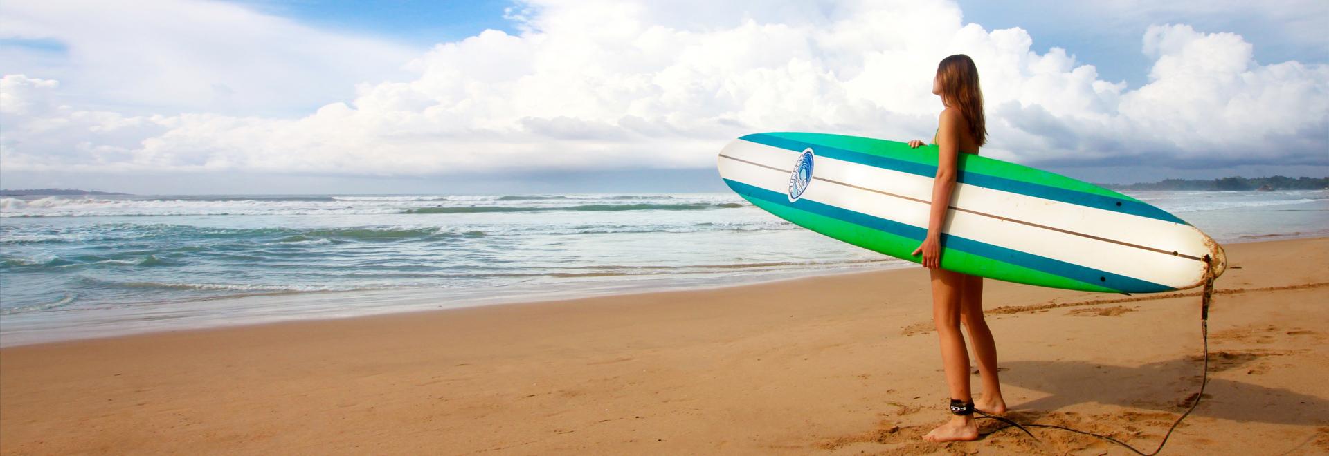 SUP & Surfen - der neue Trend